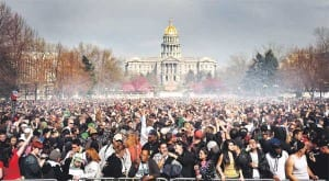 420 in Denver Civic Center Park, what 420 looked like