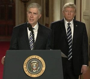 neil gorsuch feel about weed