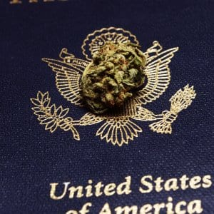 Marijuana on United States Passport