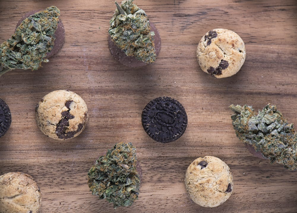 cannabis edibles as oreo cookies and chocolate chip cookies to help you figure out how much weed you need for edibles