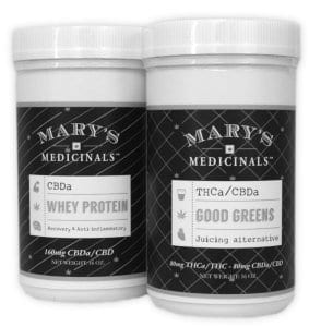 Mary's Medicinals Good Greens and Whey Protein