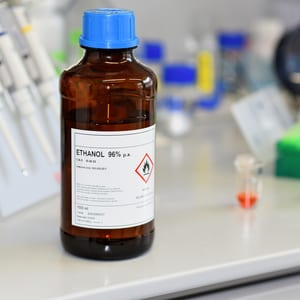 Bottle of Ethanol