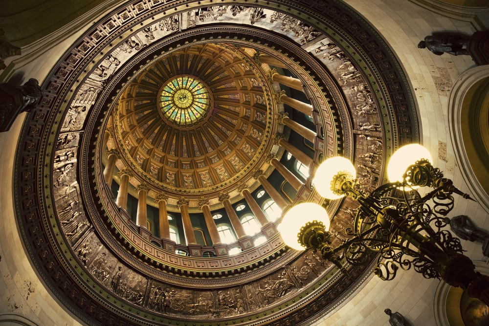 Dome of Illinois State Capitol