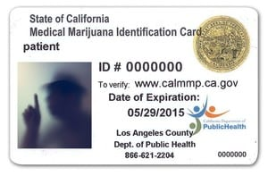State of CA Med Card