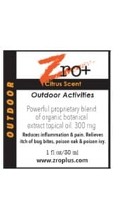 Each Zro+ products is infused with terpenes to help different ailments