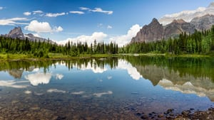 image of yoho national park in british columbia, canada