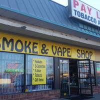 payless tobacco and vape storefront