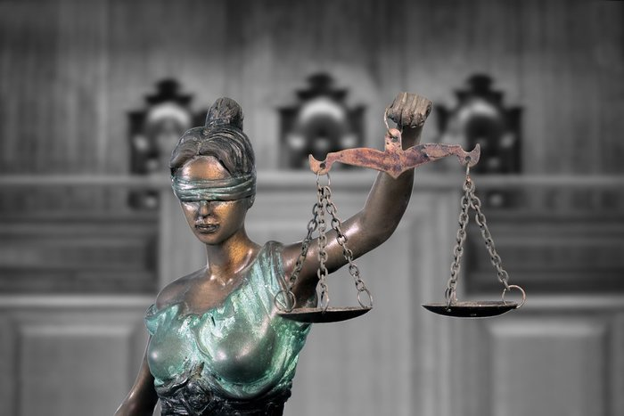 Lady Justice Courthouse