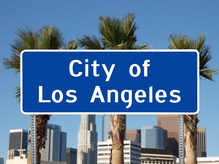 City of Los Angeles, California Sign
