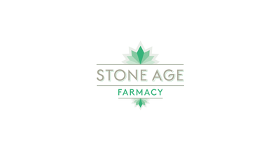 Stone age Farmacy Logo