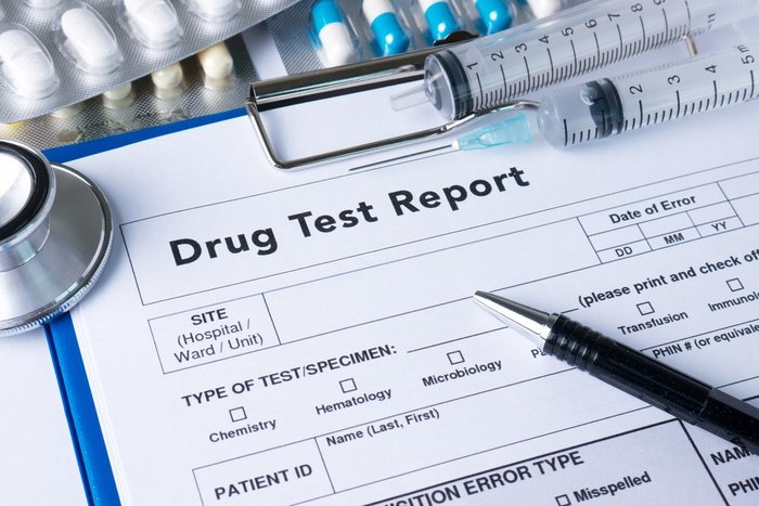 THC drug test report doctor