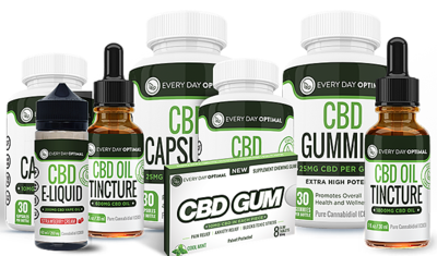 Every Day Optimal CBD Products