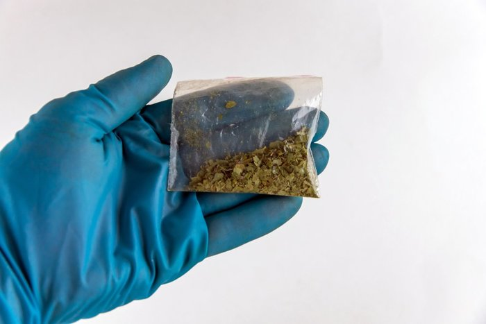 synthetic cannabis k2 in bag