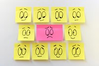 sticky notes portray how anxiety and cannabis interact