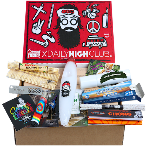 Daily High Club smoking subscription box Tommy Chong Box