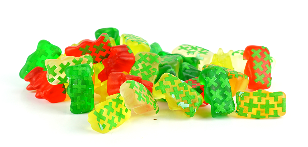 baked smart gummy bears