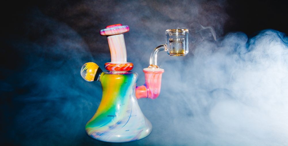 colorful dab rig