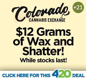 CO Cannabis Exchange 4/20 Hot Deal