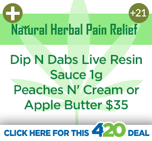 Natural Herbal Pain Relief 4/20 Hot Deal