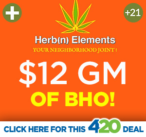 Herb'n Elements 4/20 Hot Deal