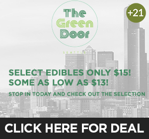 The Green Door - $15 edibles Top Deal