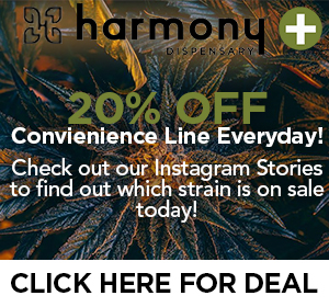 Harmony Dispensary Top Deal
