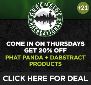 Greenside Recreational - Thursday Top Deal