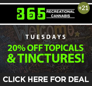 365 Recreational - Tuesday Deal Top Deal
