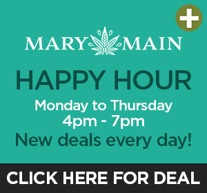 Mary & Main - Happy Hour Top Deal