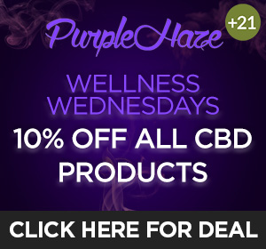 Purple Haze - Wellness Wednesdays Top Deal