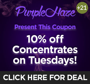 Purple Haze - Tuesday Deal Top Deal
