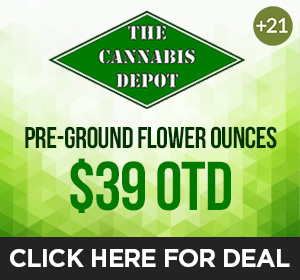 The Cannabis Depot Top Deal