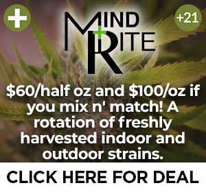 Mindrite - $60 1/2 oz and $100/oz Top Deal