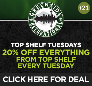 Greenside Rec - Tuesday Deal Top Deal