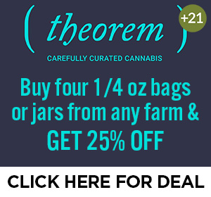 Theorem - 25% off four 1/2 oz bags Top Deal