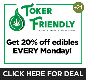Toker Friendly - Monday Deal Top Deal