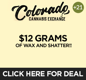 Colorado Cannabis Exchange Top Deal