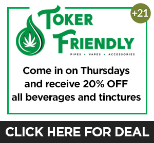 Toker Friendly - Thursday Deal Top Deal
