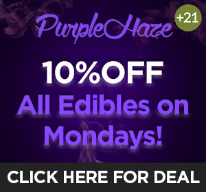 Purple Haze - Monday Deal Top Deal