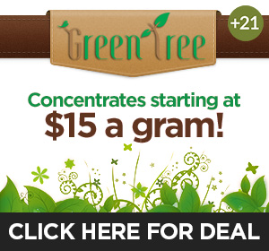 Green Tree Boulder - $15 concentrates Top Deal