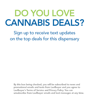Dispensary Deal Alert Signup