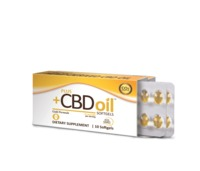 Plus CBD Hemp Oil Softgels image