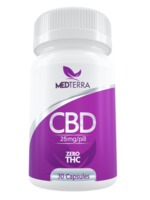 Medterra CBD Gel Capsules - 30 count - 25/50 MG product image