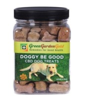 Green Garden Gold CBD Dog Treats - 70 biscuits - 2 MG of CBD product image