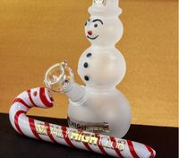 FROSTED SNOWMAN DAB RIG/BONG product image