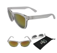 Stoner Shades Transparent with red mirror lens image