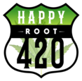 Happy Root 420 - OKC logo