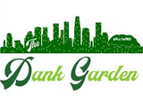 The Dank Gardens logo