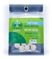 175mg THC FREE INSTANT RELIEF Tablets image