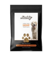 Large Dog Hemp Treats - Peanut Butter & Pumpkin image